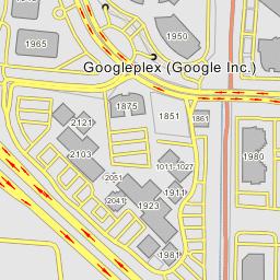 Googleplex Central Campus Mountain View California