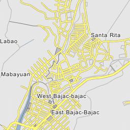 Olongapo Philippines Map.East Bajac Bajac Olongapo