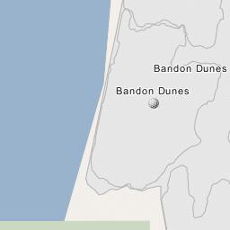 Bandon Dunes Oregon Map.Bandon Dunes