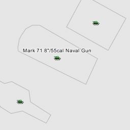 8 55rf Mark 16 Naval Rifles Pilot Turret