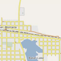Baker Lake Baker Montana