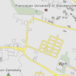 Franciscan University Campus Map.Franciscan University Of Steubenville Steubenville Ohio