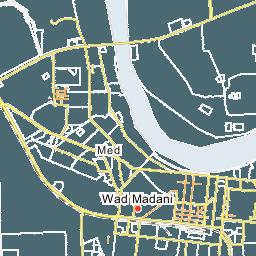 Wad Madani Map Map Of Wad Madani City - Wad madani map