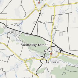 Bila Tserkva - Bila tserkva map