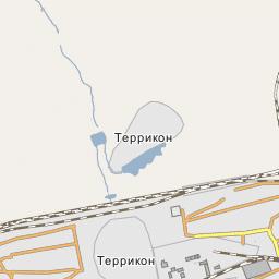 New Cemetery Alchevsk - Alchevsk map
